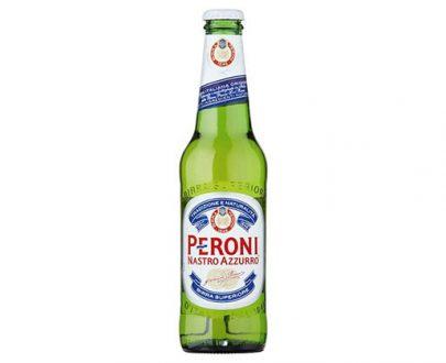 Peroni Azzurro Nastro Beer Bottle 24X330Ml