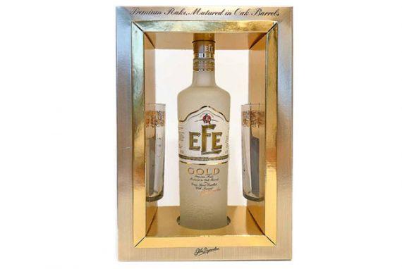 Efe Raki Gold Set 6x70 Cl