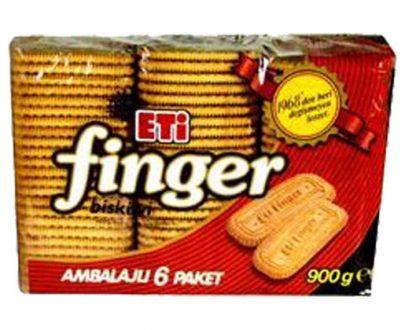 9710200 Eti Finger Biscuit 5X900Gr