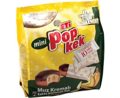 1164700 Eti Popkek Mini Banana 10X144Gr