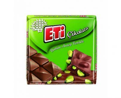1175300 Eti Chocolate W. Pistachio 12X6X75Gr