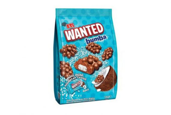 2084300 Eti Wanted Bumba Coconut Mini 12X126Gr