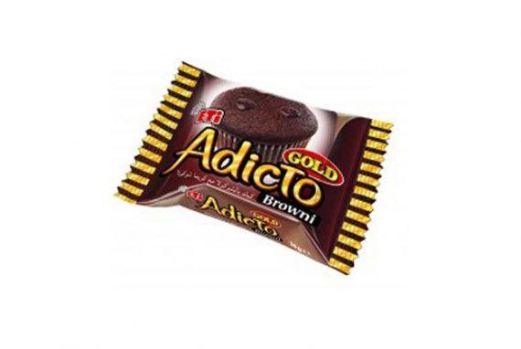 1166601 Eti Adicto Browni Gold Cocoa 4X24X36Gr