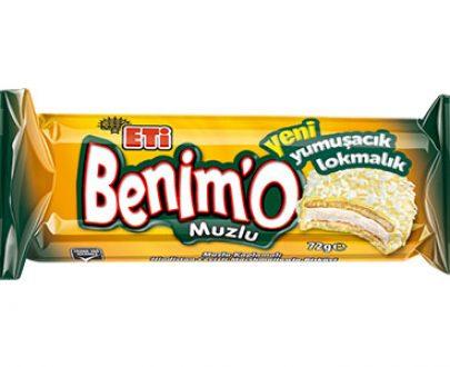 1636100 Eti Benimo W.Banana 18X72Gr