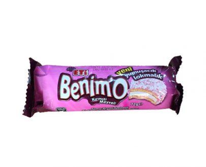 1638500 Eti Benimo W.Red Fruit 18X72Gr