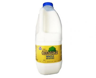 Country Life Whole Milk Blue 2Lt