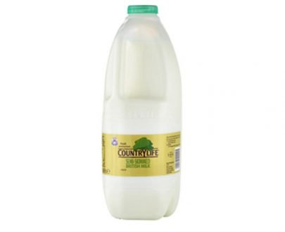 Country Life Skimmed Milk Green 2Lt