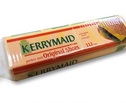 KERRYMAID BURGER CHEESE SLICED 8X1.4Kg