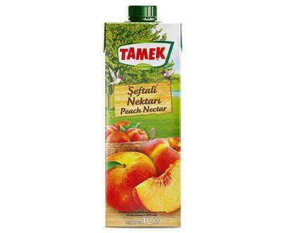 Tamek Juice 12X1Lt Peach Nectar