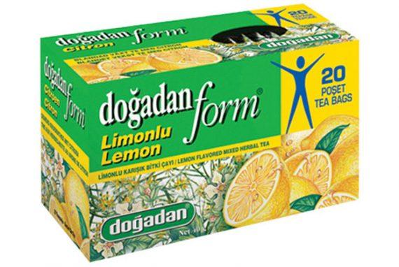 Dogadan Tea Form Lemon 12X20