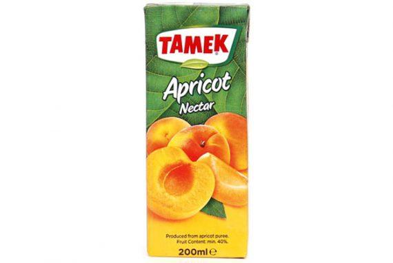 Tamek Juice Tp 27X185Ml Apricot Nectar