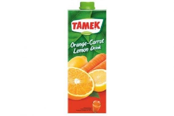 Tamek Juice Tp 27X200Ml Orange Carr Lem Drink