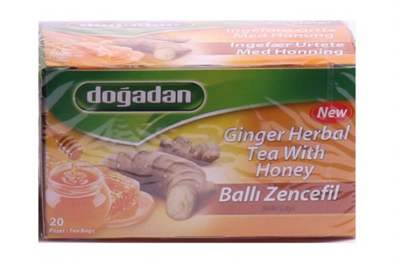 Dogadan Tea Ginger Honey 12X20
