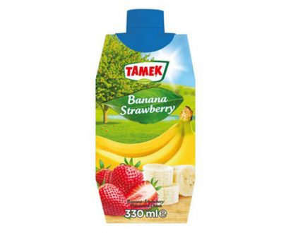 Tamek Juice Tp 12X330Ml Banana & Strawberry Drink