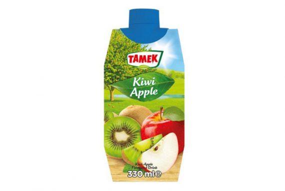 Tamek Juice Tp 12X330Ml Kiwi & Apple Drink