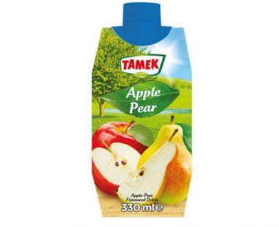 Tamek Juice Tp 12X330Ml Apple & Pear Drink