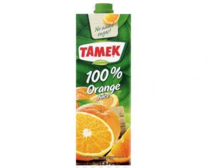 Tamek Juice 12X1Lt Orange 100%