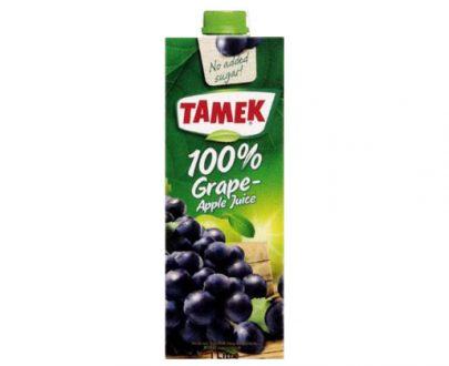 Tamek Juice 12X1Lt Grape 100%