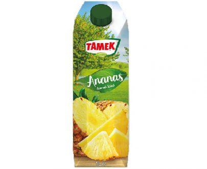 Tamek Juice 12X1Lt Pineapple 100%