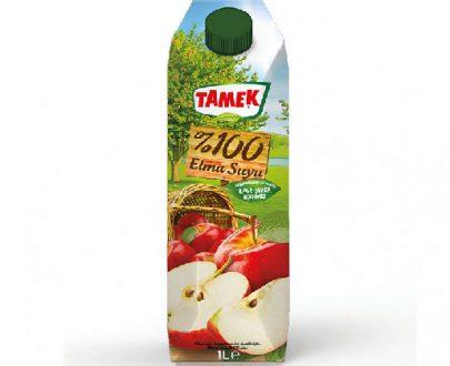 Tamek Juice 12X1Lt Peach Apple 100%