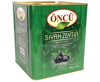 Oncu Olive / Tin / 10Kg / Black / Xs / 321-350