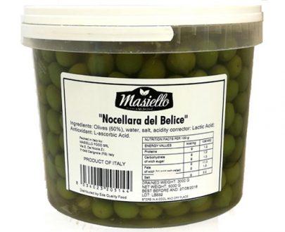 Eda Olives Sicilian  Nocelara Masiello 5.5Kg