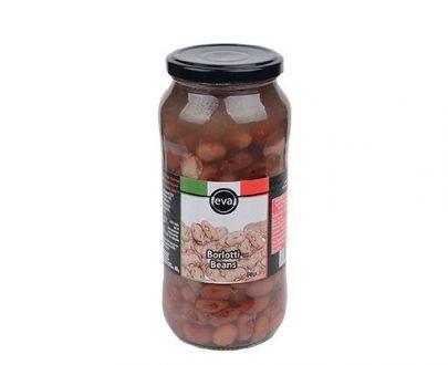 Eva Borlotti Beans Boiled Jar 12X540Gr