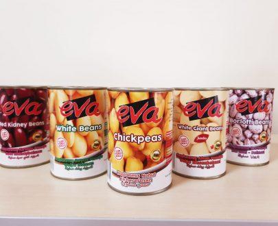 Eva White Beans Boiled Tr 12X400Gr